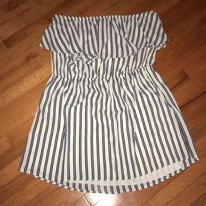Striped Sleeveless Dress Size 3x